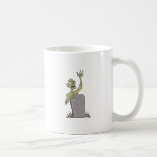 Raising From The Grave Creepy Zombie With Rotting Coffee Mug