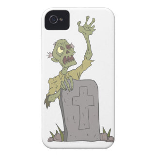 Raising From The Grave Creepy Zombie With Rotting iPhone 4 Case-Mate Cases