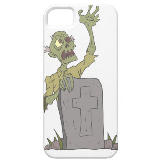 Raising From The Grave Creepy Zombie With Rotting iPhone 5 Case