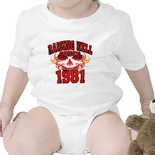 Raising Hell since 1981.png Tee Shirt