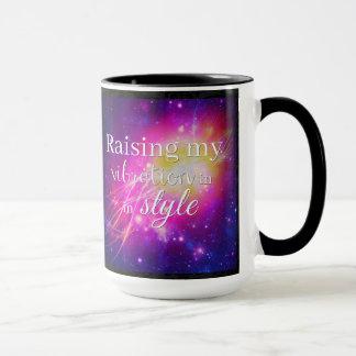 Raising My Vibration In Style Mug