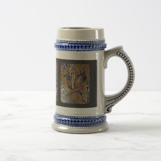 Raising Of Lazarus By Meister Der Pantanassa-Kirch Beer Stein