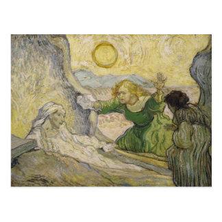Raising of Lazarus (Rembrandt), Van Gogh Fine Art Postcard