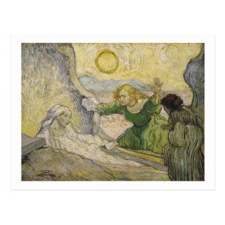 Raising of Lazarus (Rembrandt), Vincent van Gogh Postcard