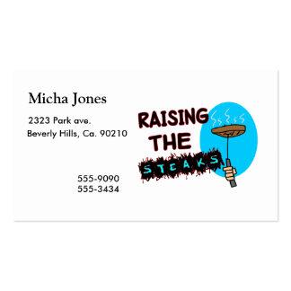 Raising The Steaks Business Card