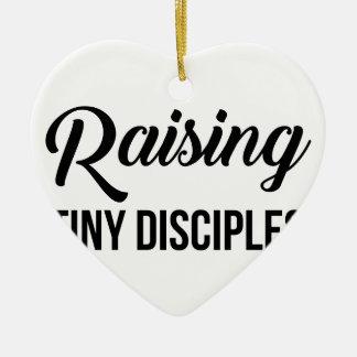 Raising Tiny Disciples Ceramic Ornament