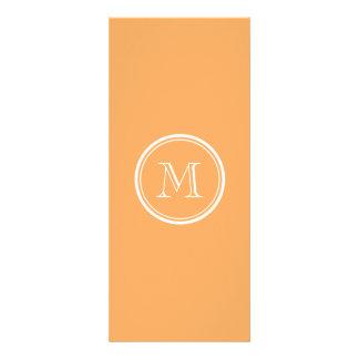 Rajah High End Colored Monogram Initial Custom Invitations