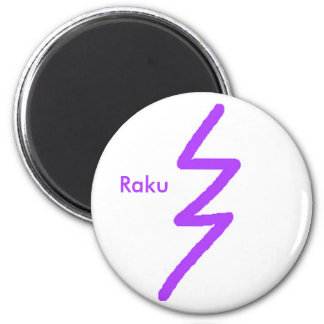 Raku Fridge Magnet