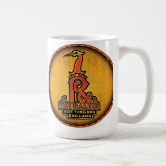 Raleigh Bicycles sign Coffee Mug