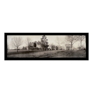 Raleigh, NC College Photo 1909 Poster