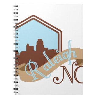 Raleigh NC Spiral Notebooks