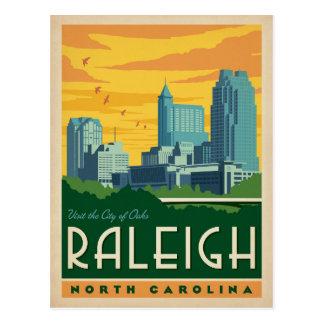 Raleigh, North Carolina   City of Oaks Postcard