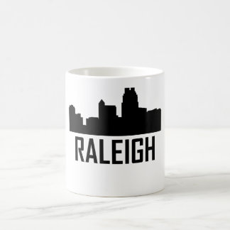 Raleigh North Carolina City Skyline Coffee Mug