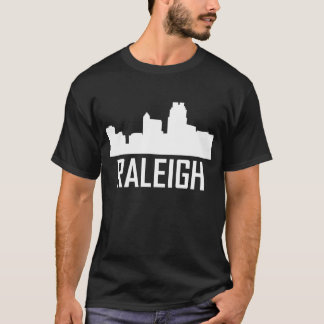 Raleigh North Carolina City Skyline T-Shirt