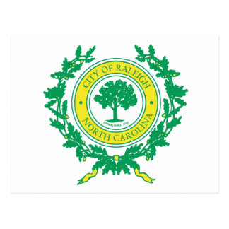 Raleigh, North Carolina Seal Postcard