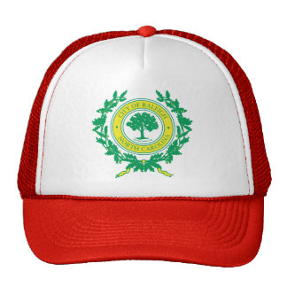 Raleigh, North Carolina Seal Trucker Hat