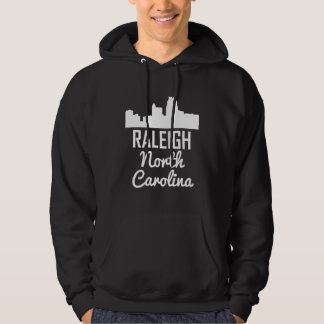 Raleigh North Carolina Skyline Hoodie