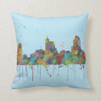 RALEIGH, NORTH CAROLINA - Throw pillow