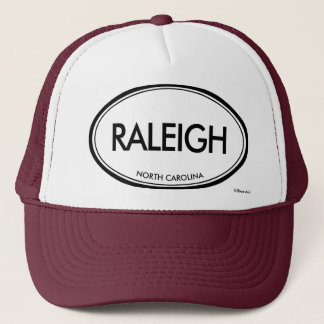 Raleigh, North Carolina Trucker Hat