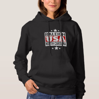 Raleigh North Carolina USA Hoodie