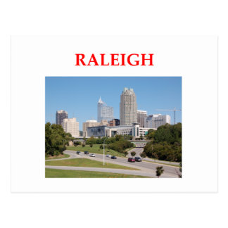 raleigh postcard