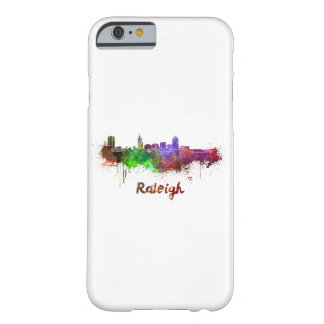 Raleigh skyline in watercolor barely there iPhone 6 case