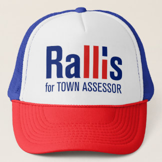 """Rallis for Assessor"" Hat"