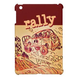 rally car flying high ver2 iPad mini covers