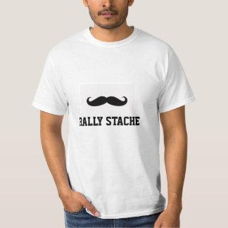 Rally Stache Tshirt