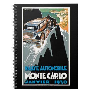 Rallye Automobile Monte Carlo Note Books