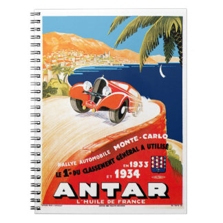 Rallye Automobile Monte Carlo Notebooks