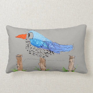 Ralph Bird Lumbar Pillow