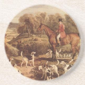 Ralph Lambton and his Hounds by James Ward Coaster