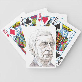 Ralph Waldo Emerson Bicycle Playing Cards