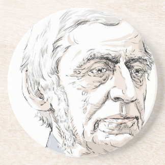 Ralph Waldo Emerson Drink Coaster