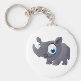 Ralphie The Rhinoceros Keychain