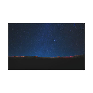 Ralston Peak Starfield Canvas Print