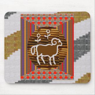 RAM ANIMAL WILD ZODIAC ASTROLOGY SYMBOL MOUSE PAD