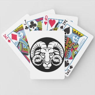 Ram Aries Zodiac Sign Bicycle Playing Cards