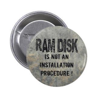 Ram Disk 2 Inch Round Button