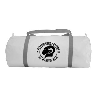 RAM Gym Bag, Solid Black Logo