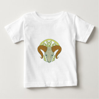 Ram Head Celtic Knot Baby T-Shirt
