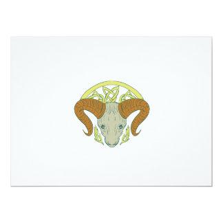 Ram Head Celtic Knot Card