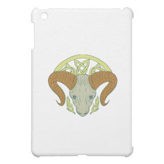 Ram Head Celtic Knot Cover For The iPad Mini