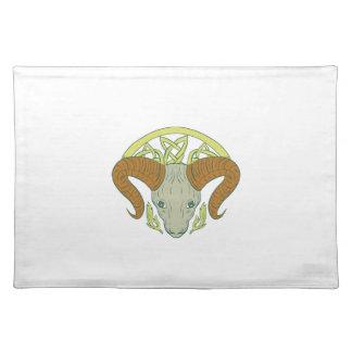 Ram Head Celtic Knot Placemat