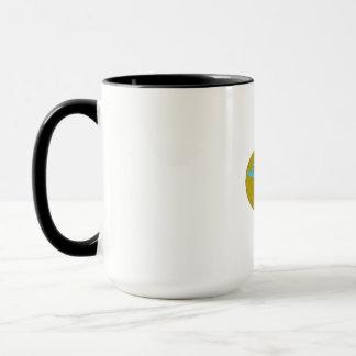 Ram Head Middle East Globe Drawing Mug
