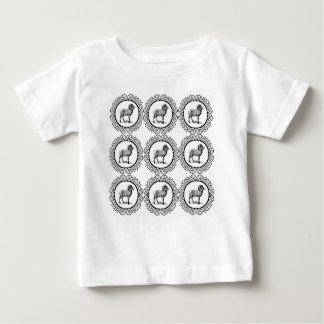 ram in a round baby T-Shirt