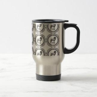ram in a round travel mug