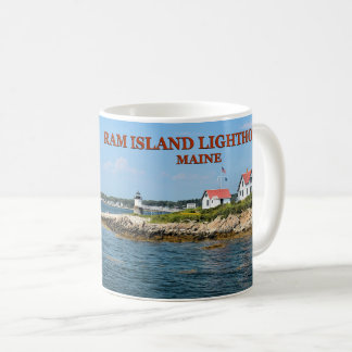 Ram Island Lighthouse, Boothbay Harbor Maine Mug