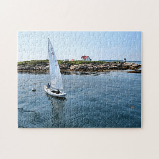 Ram Island Lighthouse, Maine Jigsaw Puzzle